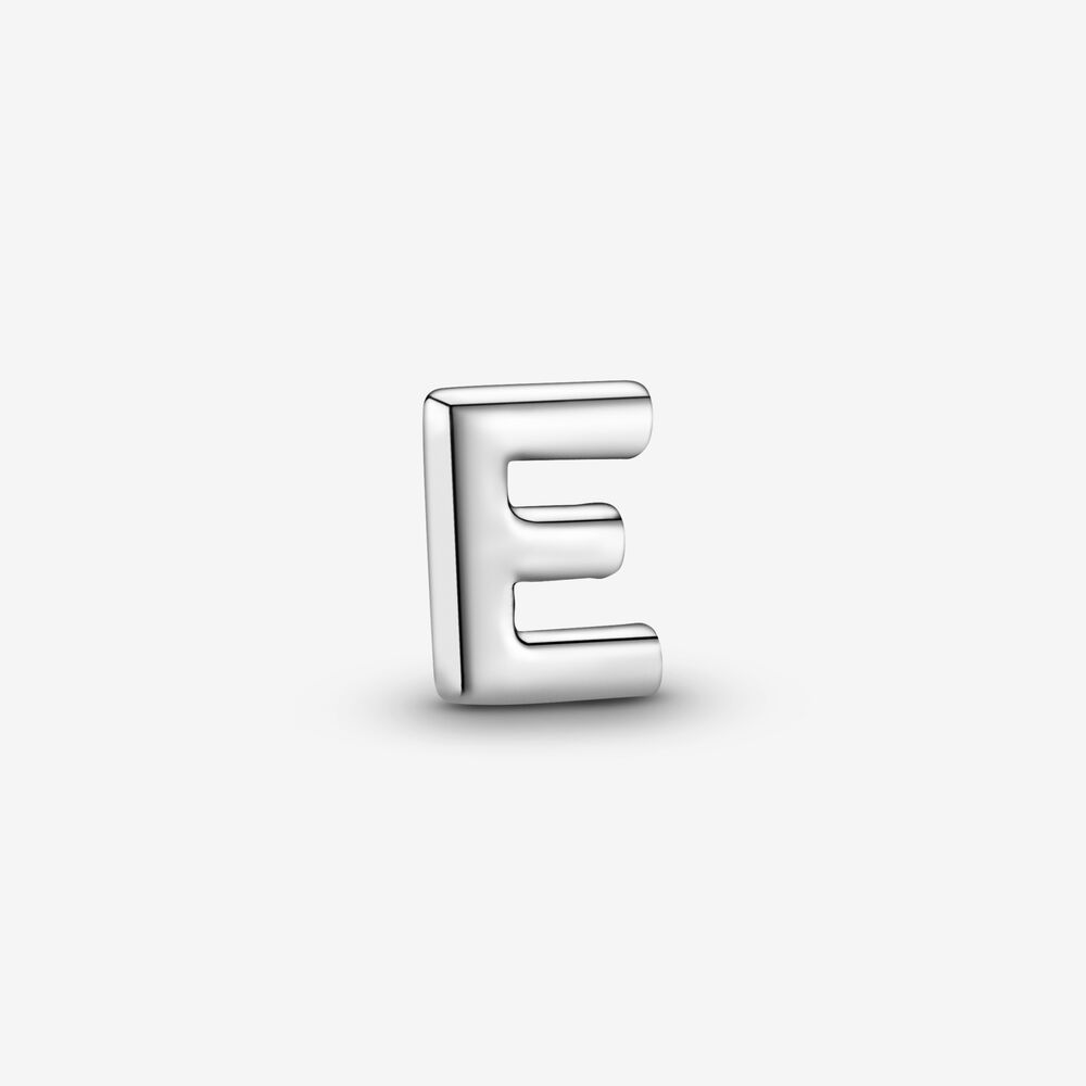 Letter E Alphabet Locket Element