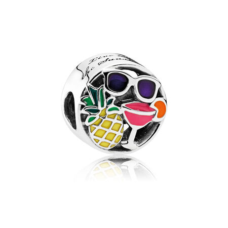 Summer Fun Charm, Mixed Enamel