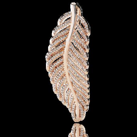 Light As A Feather Pendant, PANDORA Rose™ & CZ
