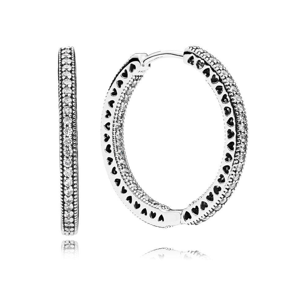 pandora earrings hoops