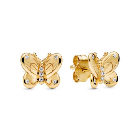 Aretes Mariposas Decorativas, Pandora Shine™