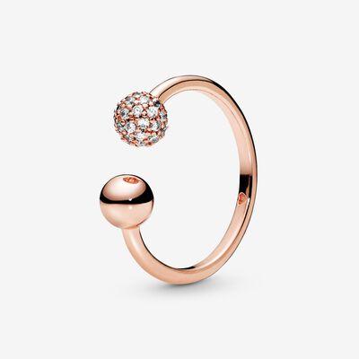 Pandora Rose Rings | Rose-Gold Plated Rings | Pandora US