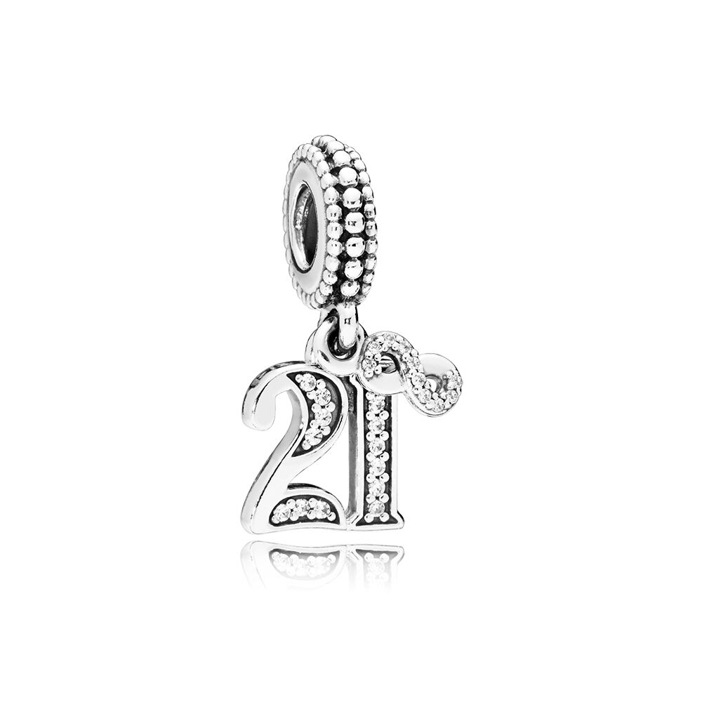 pandora dangle 21 charm