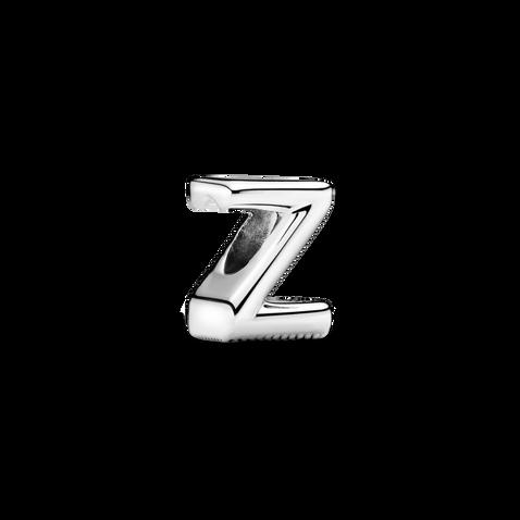 Letter Z Alphabet Charm