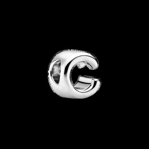 Letter C Alphabet Charm
