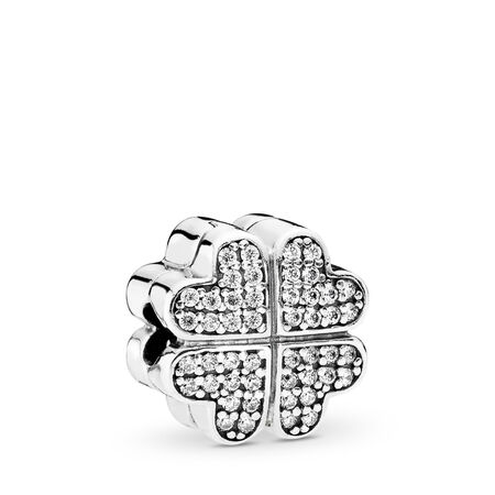 97c71b4b0 Petals of Love, Clear CZ Sterling silver, Cubic Zirconia