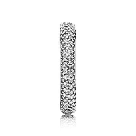 Inspiration Within Ring, Clear CZ