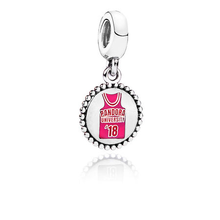 PANDORA University '18 Dangle Charm, Sterling silver - PANDORA - #ENG791169_36