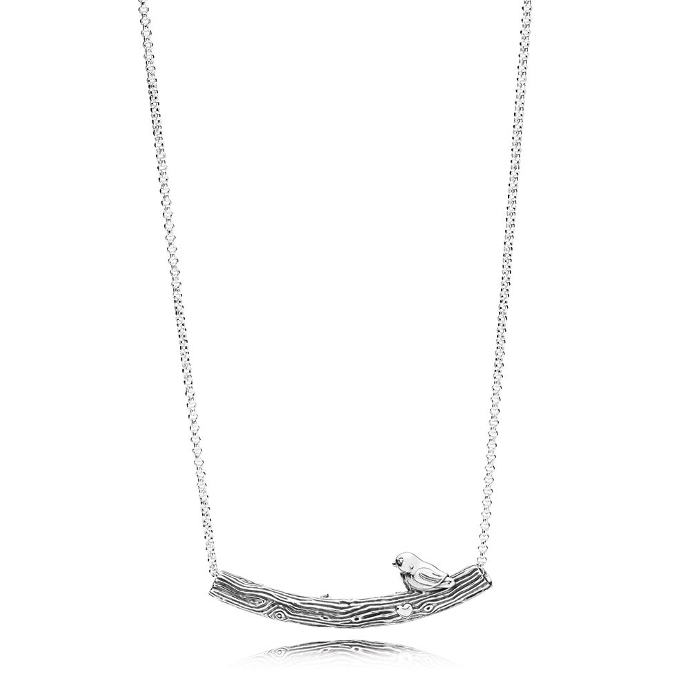 large necklace love index bird