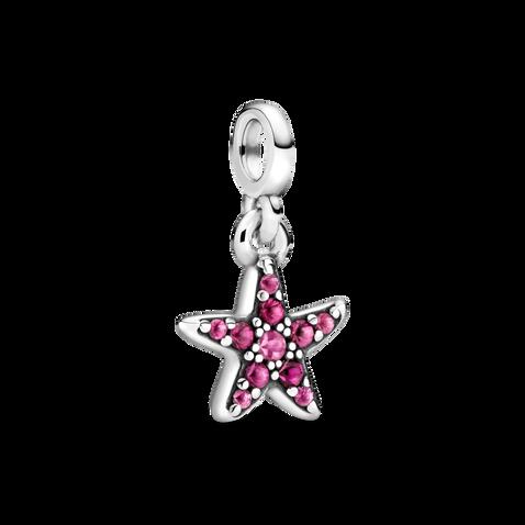 Charm Colgante Mi Estrella de Mar Rosa