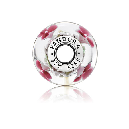 Flower Garden Charm, Murano Glass
