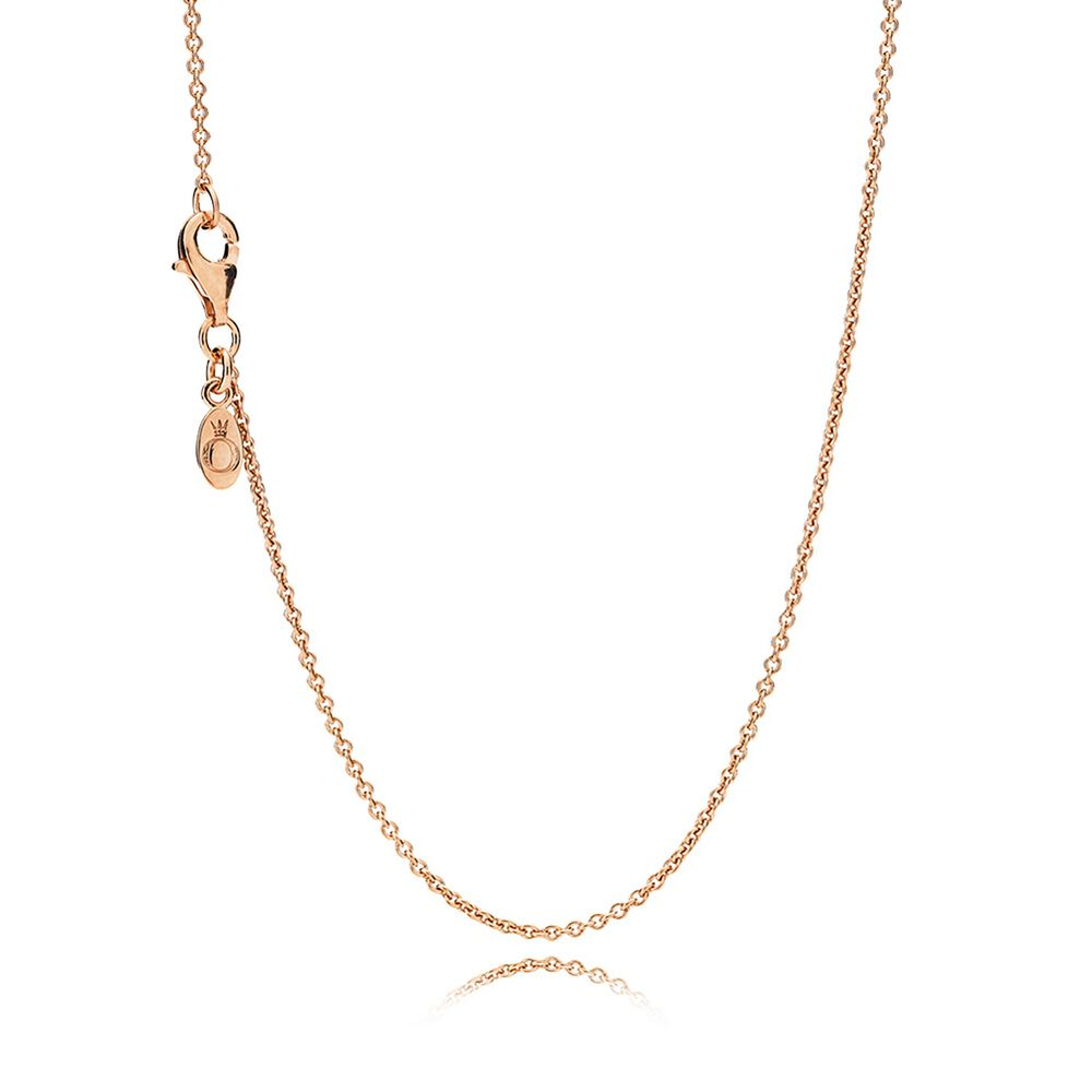 Necklace chain sterling silver 14k rose gold pandora je necklace chain sterling silver 14k rose gold aloadofball Images