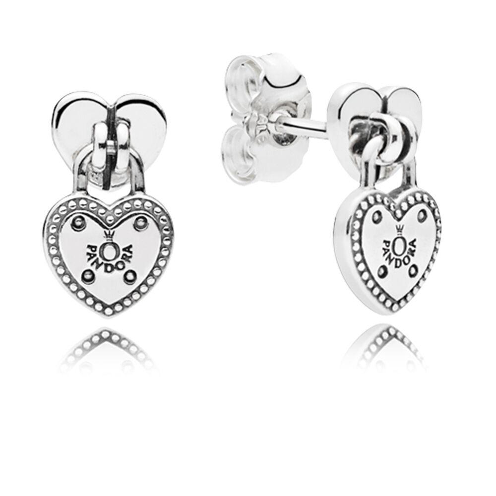 Love Locks Stud Earrings Pandora Jewelry Us