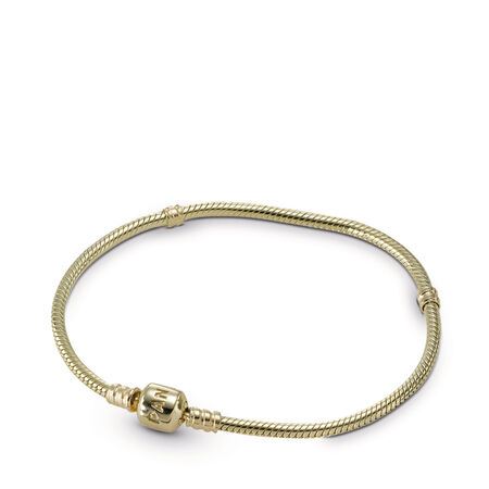 Moments Gold Clasp Bracelet