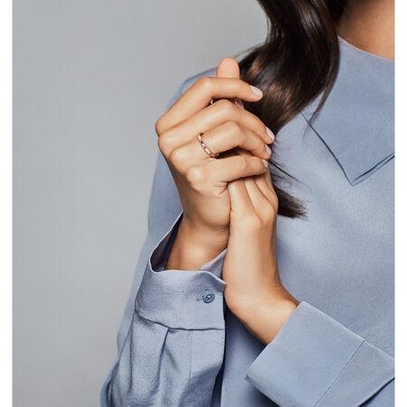PANDORA Signature Arcs of Love Ring, PANDORA Rose™