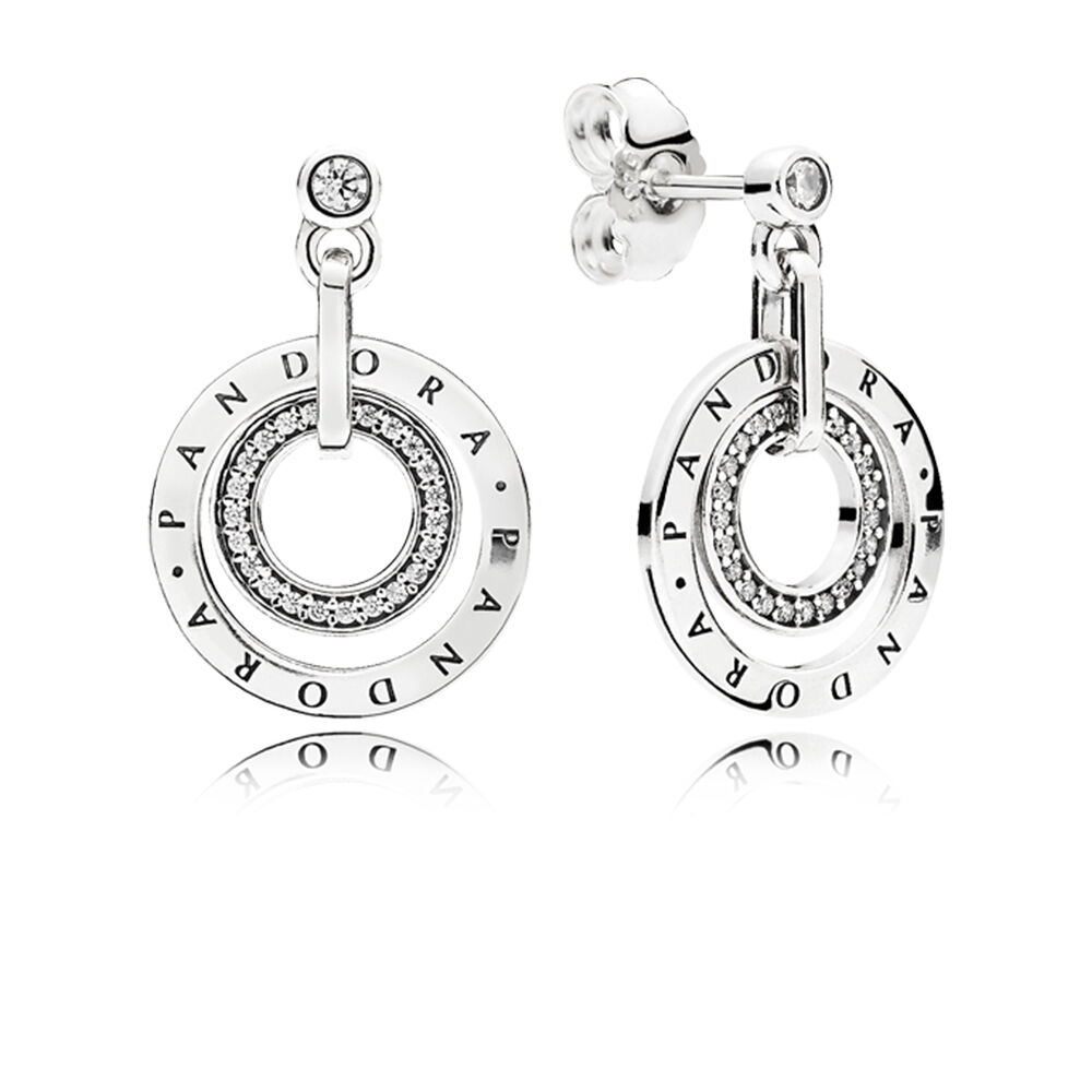 pandora droplet earrings