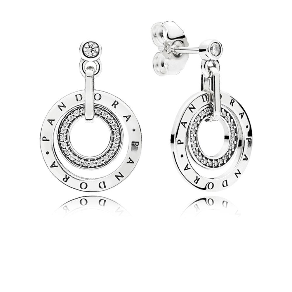 pandora droplet earrings