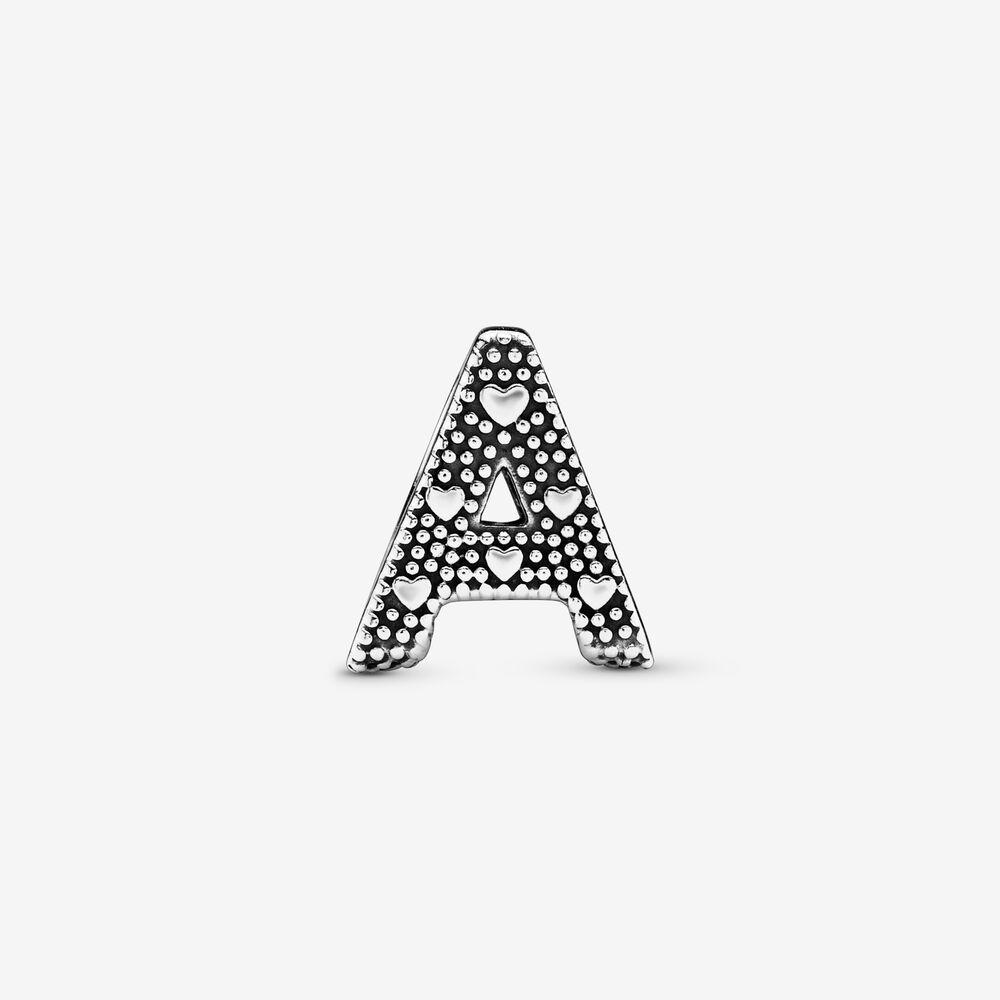 charm pandora originale lettere