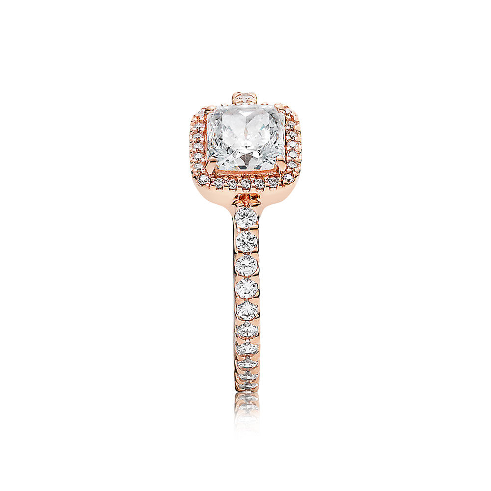 Timeless Elegance Ring Pandora Rose Amp Clear Cz Pandora