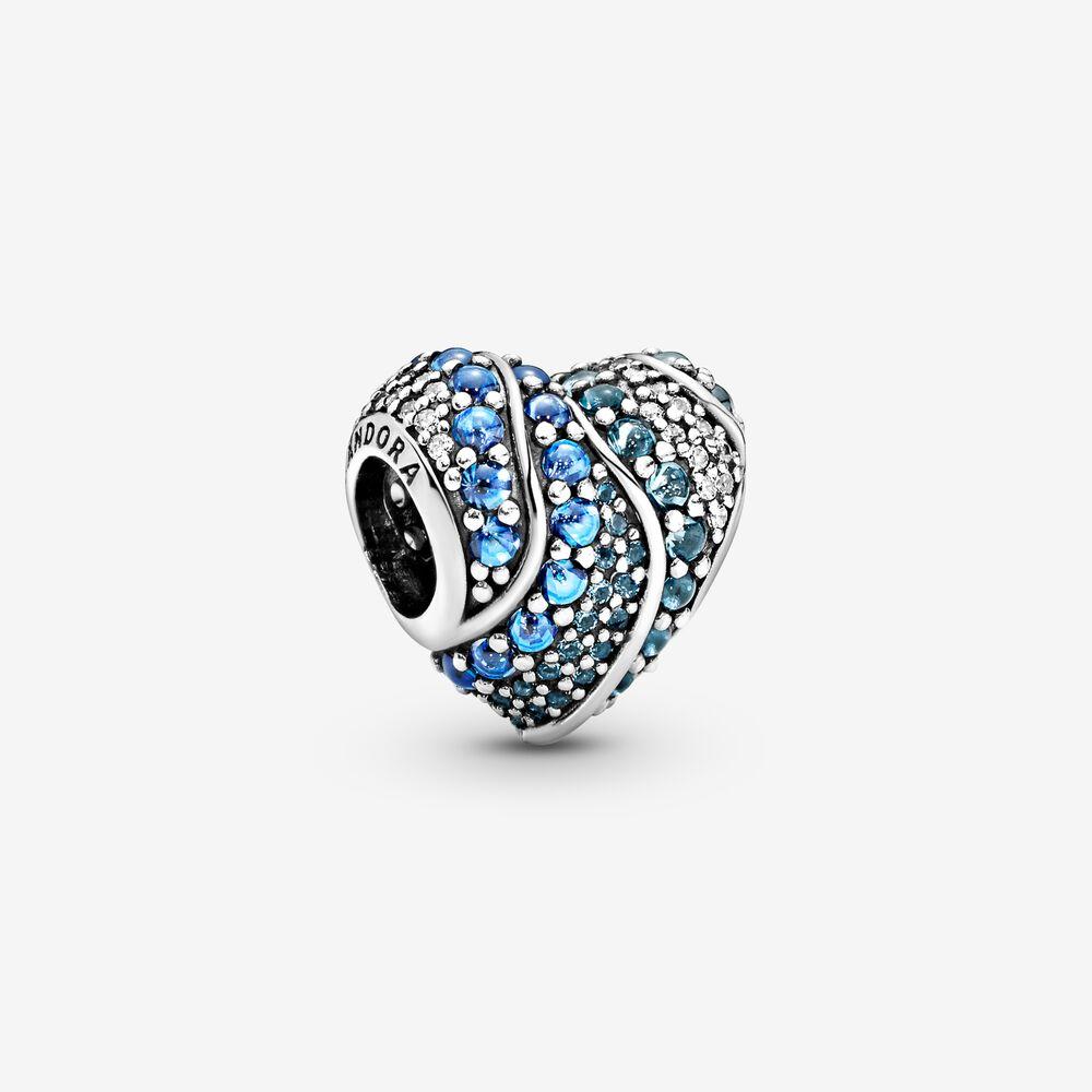 charm pandora bleu