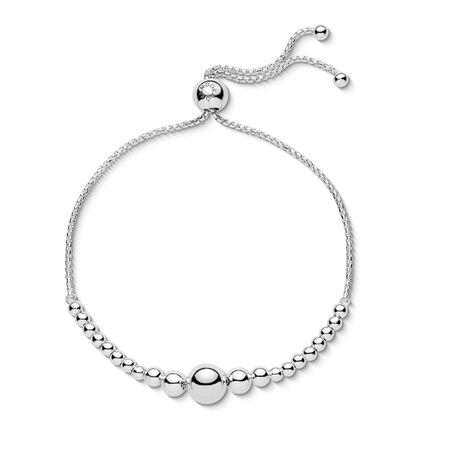 String Of Beads Sliding Bracelet