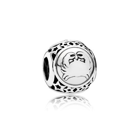 Cancer Star Sign Charm, Sterling silver - PANDORA - #791939