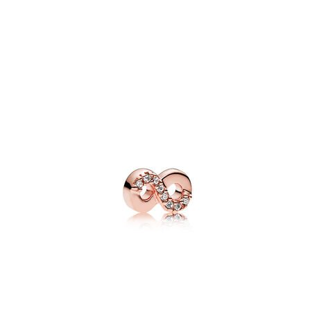 Infinite Love Petite Locket Charm, PANDORA Rose™ & Clear CZ
