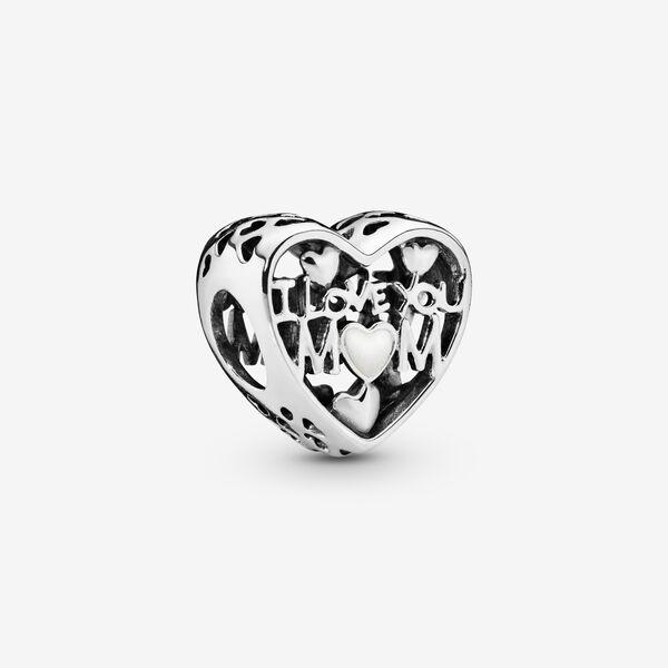 I Love You Mom Heart Charm - FINAL SALE