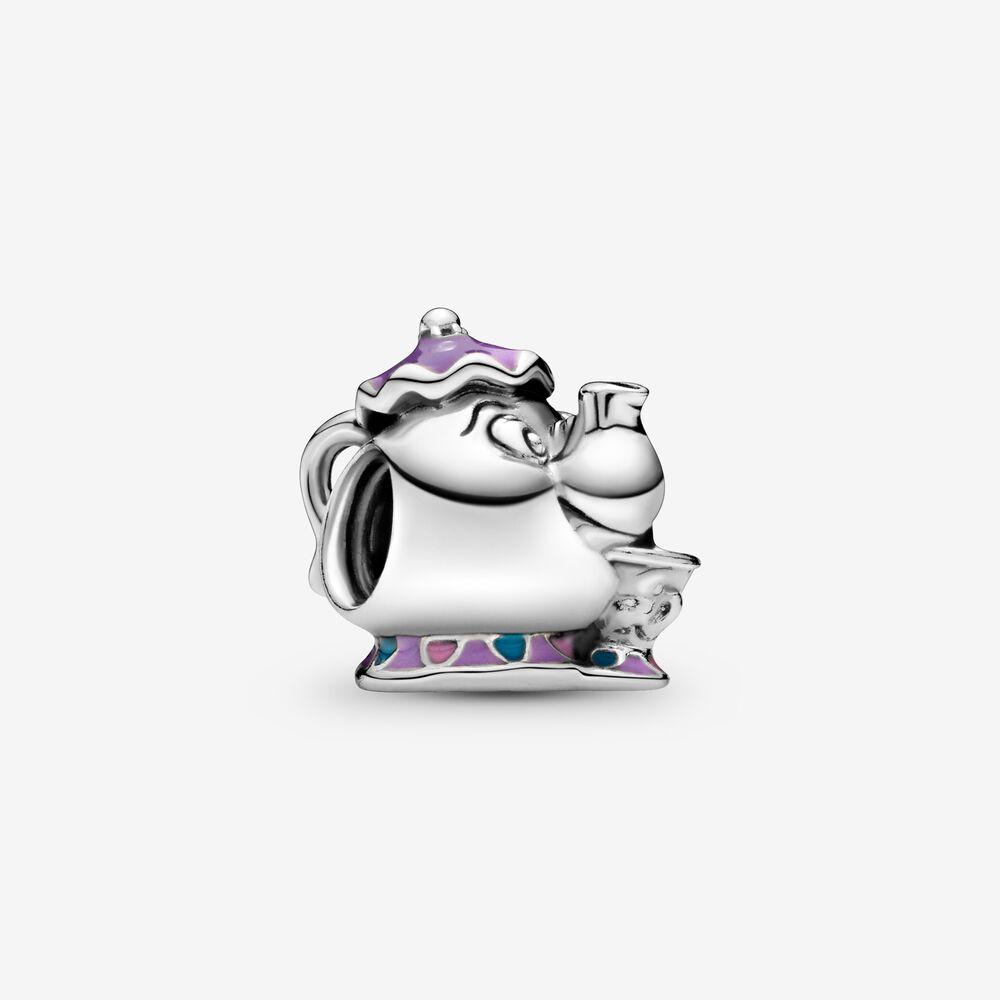 Disney Mrs Potts Chip Beauty And The Beast Charm Silver Pandora Us