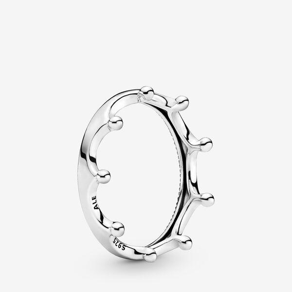 Polished Crown Ring by Pandora