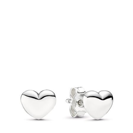 01d1ed090c160 Hearts Stud Earrings Sterling silver