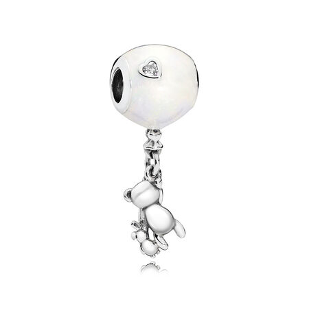 Teddy & Balloon Dangle Charm