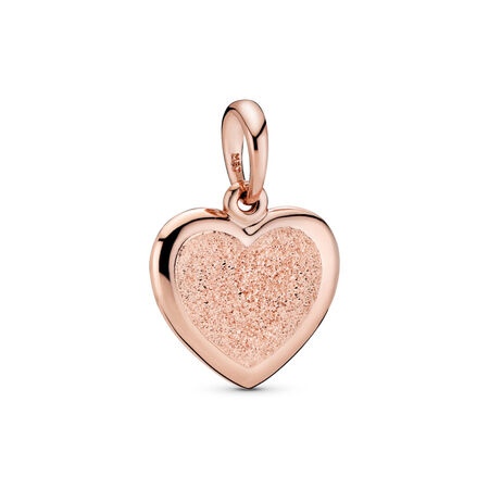 Matte Brilliance Heart Pendant, Pandora Rose™