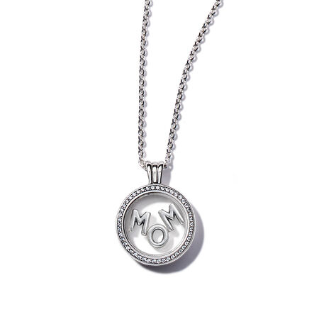 Sparkling Mom Floating Locket Gift Set