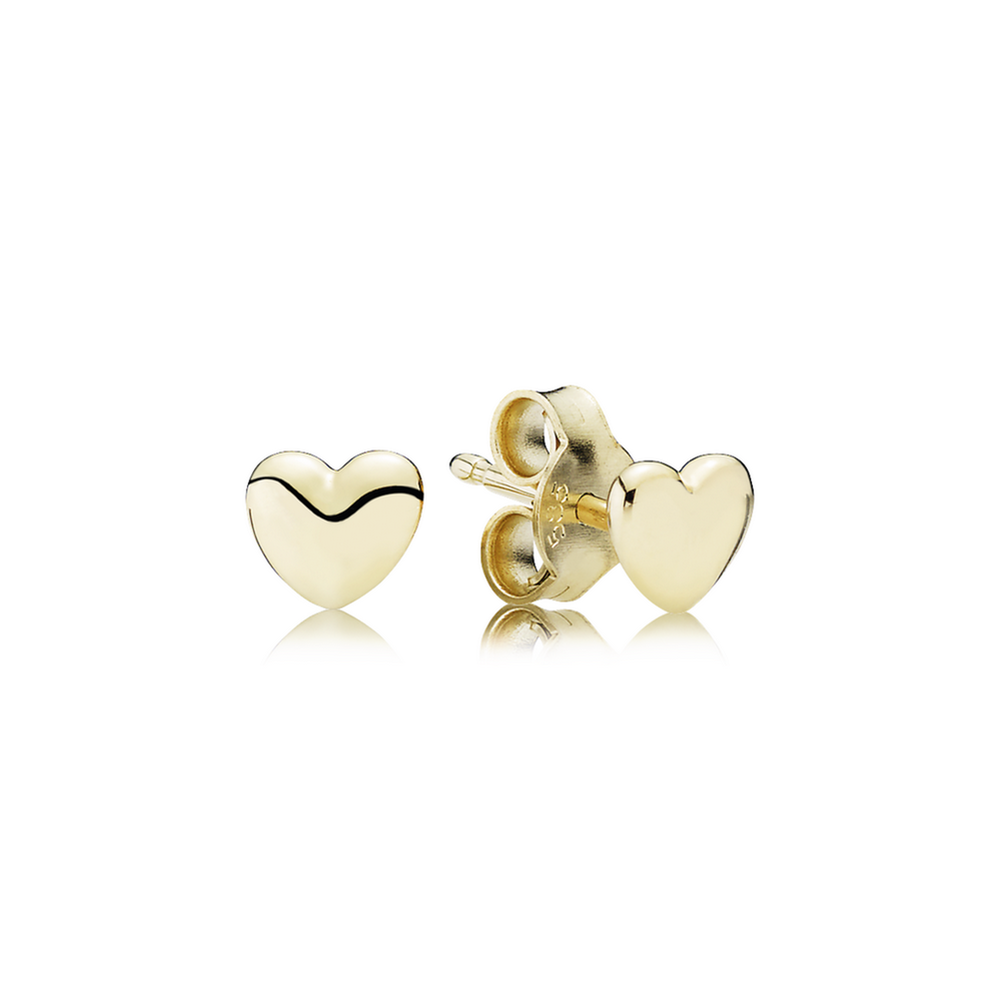 earrings gold stud invisible cut princess wh set diamond