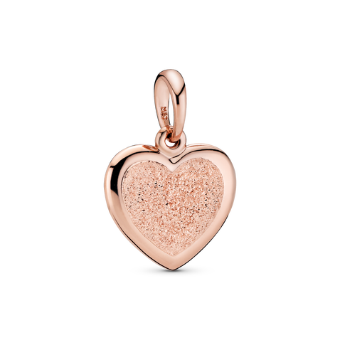 Matte Brilliance Heart Pendant