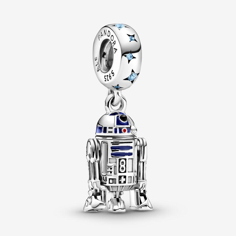 Star Wars R2-D2 Dangle Charm   Sterling silver   Pandora US