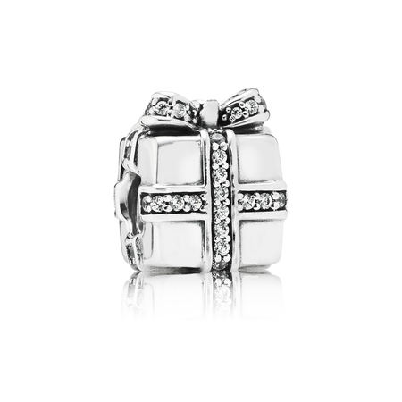 Sparkling Surprise Charm, Clear CZ