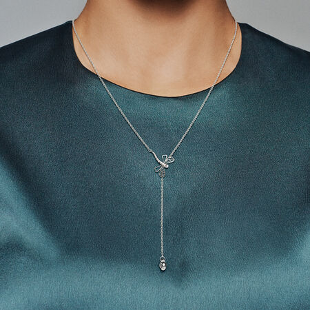 Dreamy Dragonfly Necklace Pandora Jewelry Us