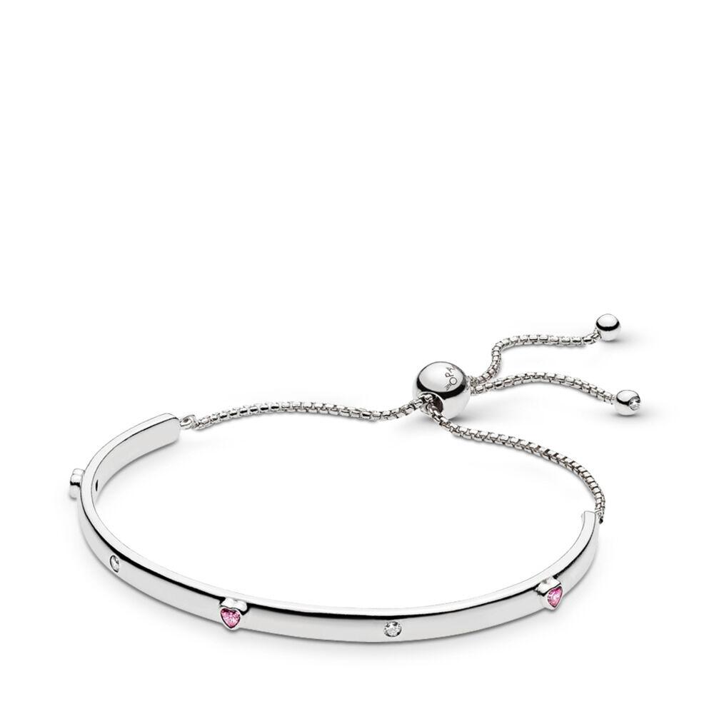 72fe2dae5 Explosion of Love Bracelet, Fancy Fuchsia Pink & Clear CZ