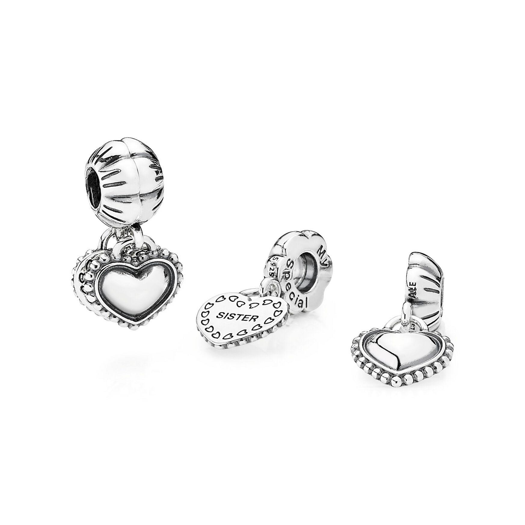 pandora sister bracelet charms