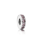 Eternity Spacer, Blush Pink Crystal