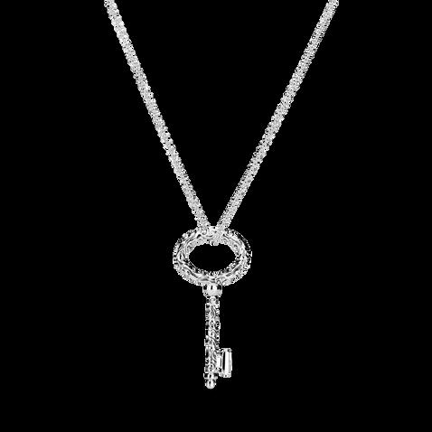 Regal Key Pendant Necklace