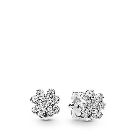 Radiant Clover Earrings