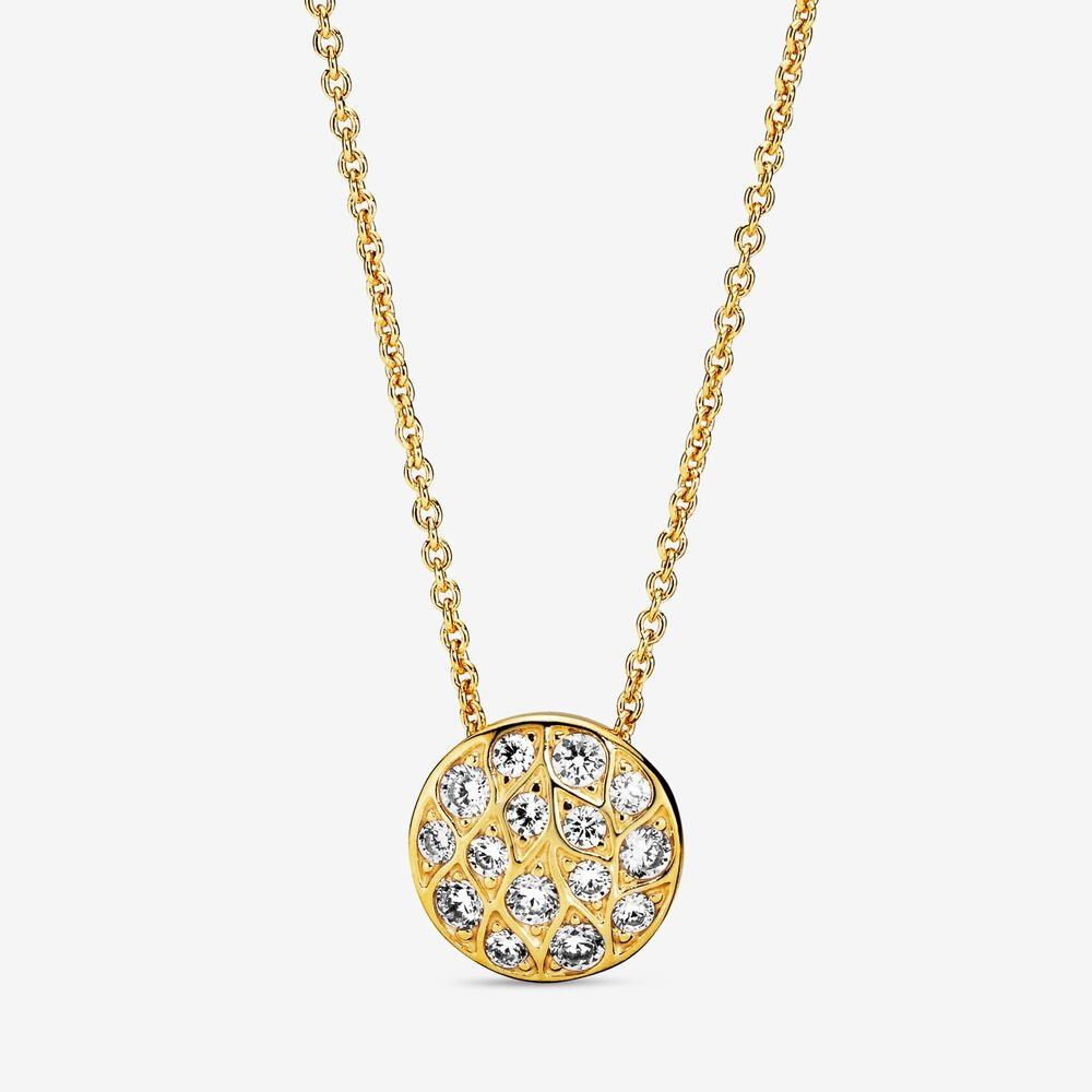 Sparkling Pattern Necklace