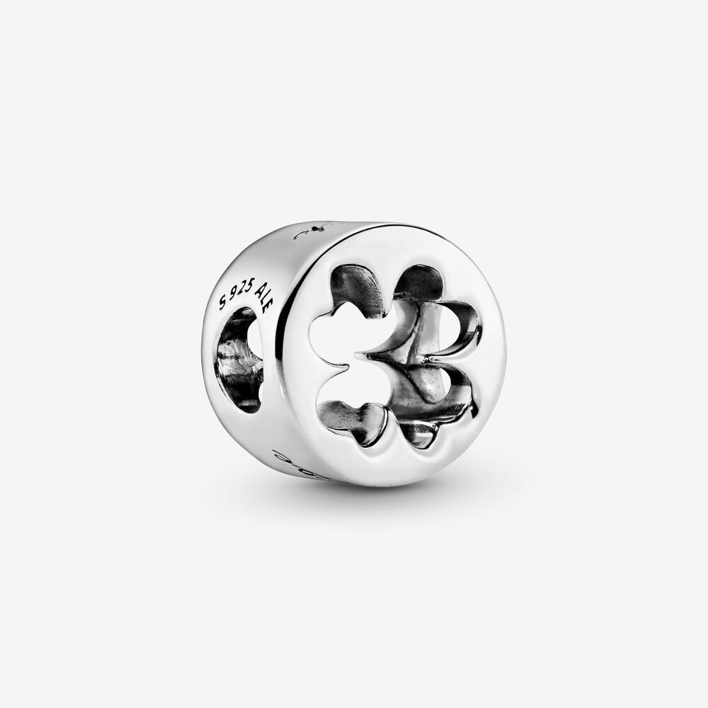Luck & Courage Four-Leaf Clover Charm