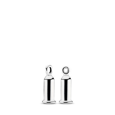 Earring Charm Barrel, Sterling silver - PANDORA - #291002