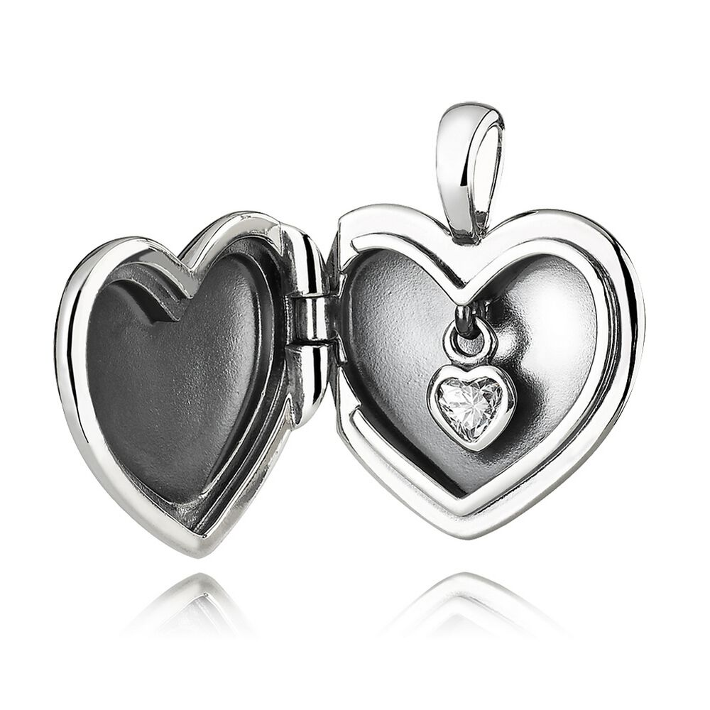 sea clear products glass shaped heart mini real authenticated lockets locket
