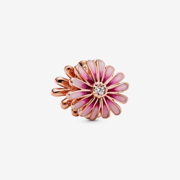 charm rosa pandora