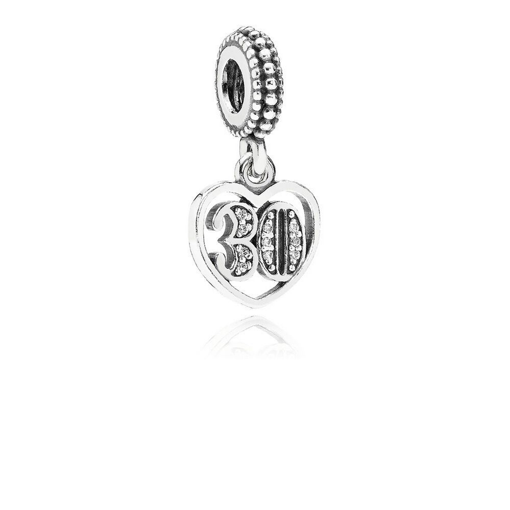pandora 30th wedding anniversary charm